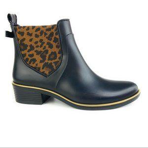 Kate Spade Sedgewick Chelsea Boot w/ Leopard Panel